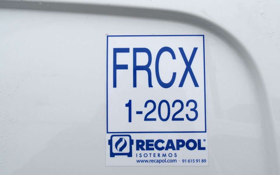 pegatina FRCX recapol