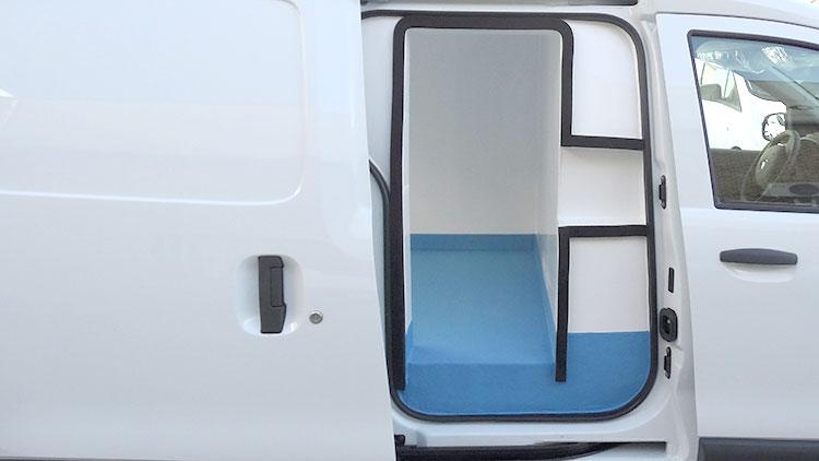 Isotermo recapol sobre Dacia Dokker