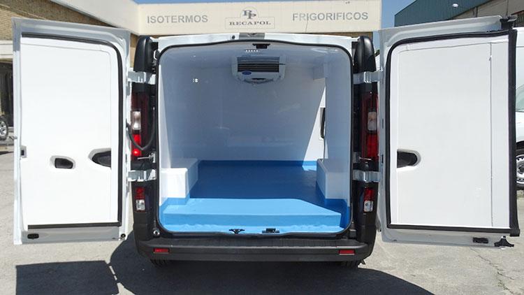 Isotermo para vehiculo Vivaro Recapol