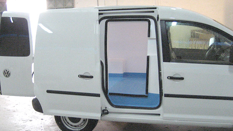 Isotermo para vehiculo Cadyy Recapol