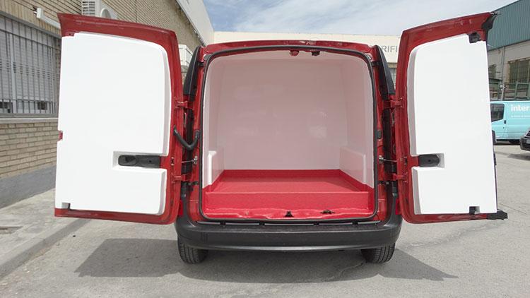 Isotermo para vehiculo Kangoo Recapol