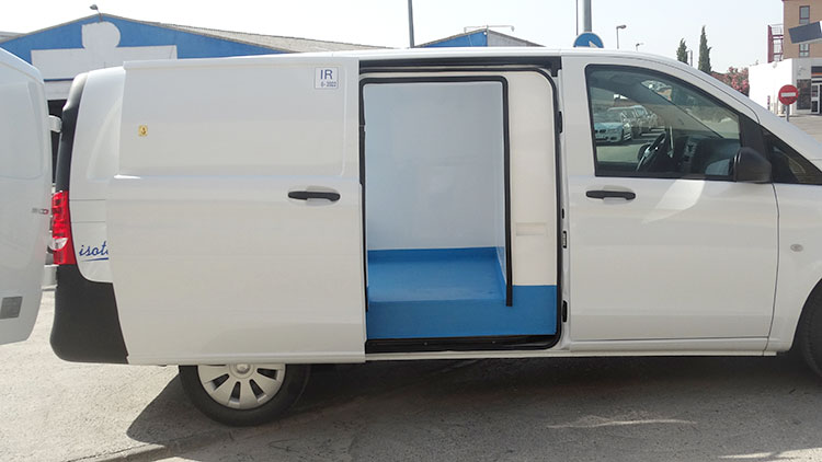 Isotermo para vehiculo Vito Recapol