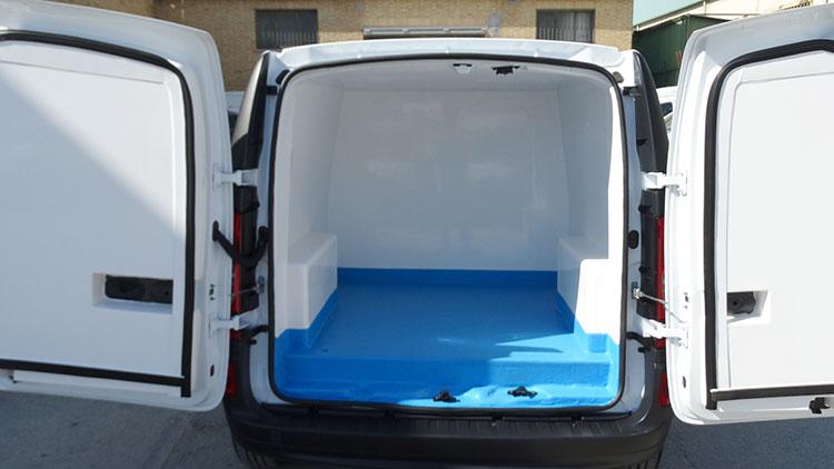 Isotermo para vehiculo Citan Recapol