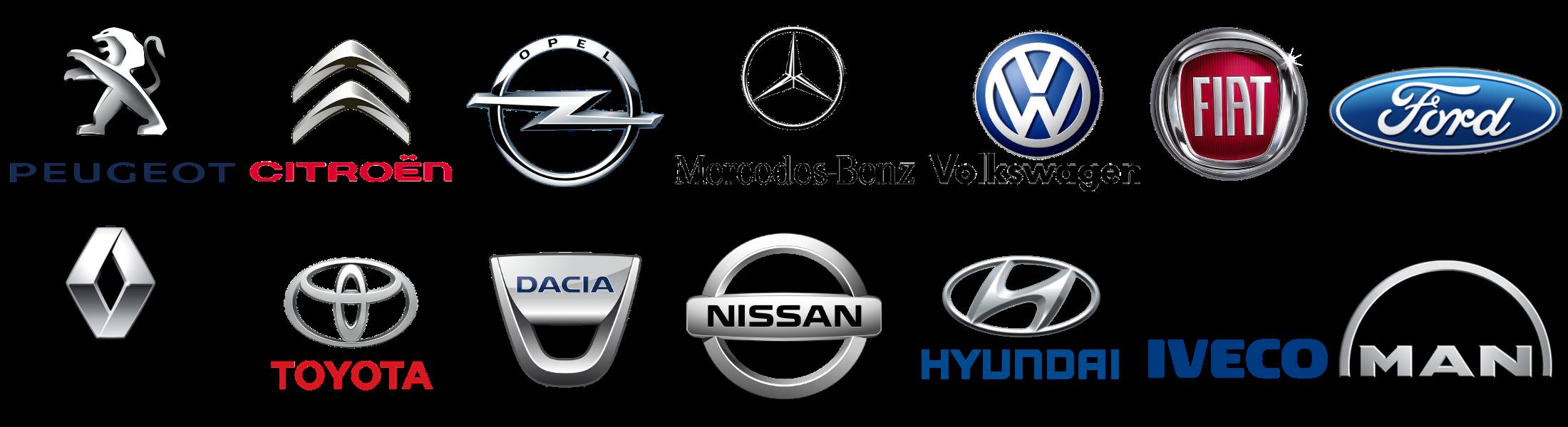 Marcas vehículos Recapol