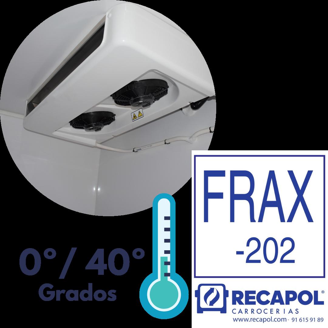 Equipo 0º - 40º para transporte de farmacia Recapol