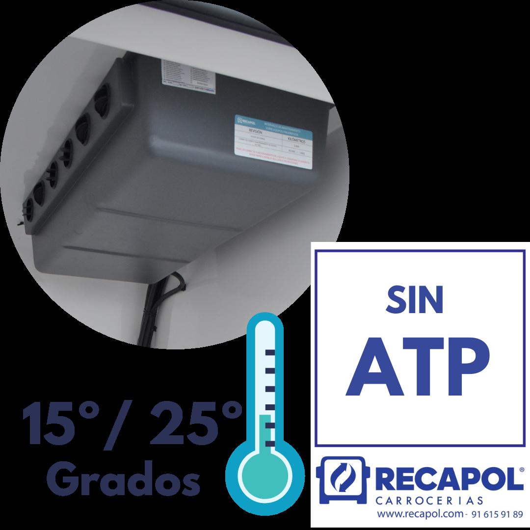 Equipo 15º -25º para transporte de farmacia Recapol