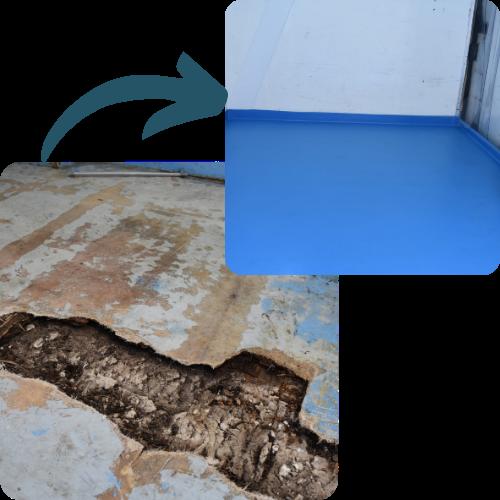 Reparación isotermo Recapol