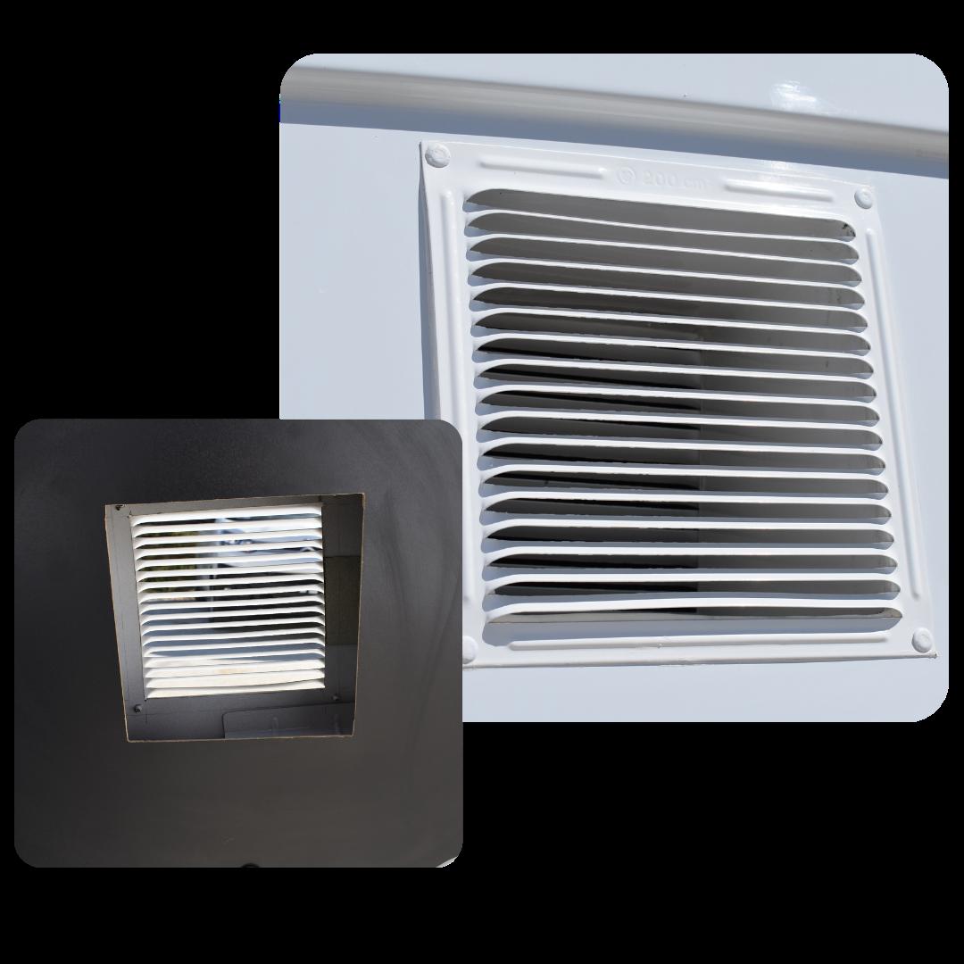 Rejilla ventilación Control de plagas limpieza fumigación Recapol