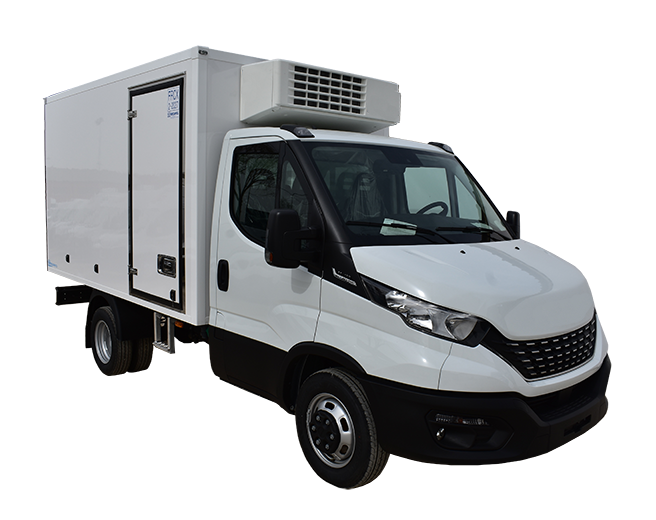 Iveco daily chasis cabina isotermo  lateral Recapol mínimo